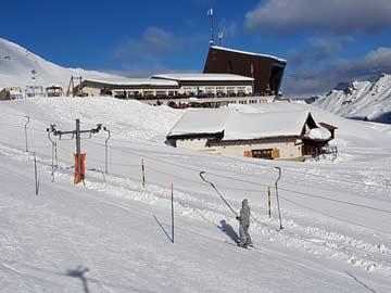Skihütte Zinal