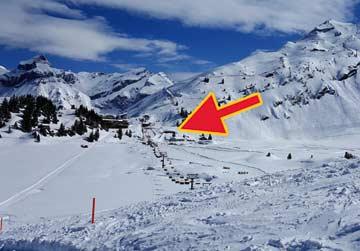 Hütte Engelberg - direkt im Skigebiet