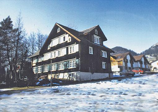 Chalet Wildhaus