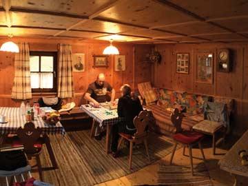 Aufenthaltsraum im Ferienhaus Kappl
