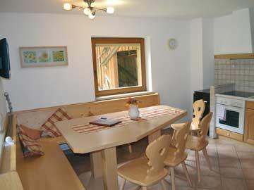 Ferienhaus in Neustift - gemütliche Wohnküche