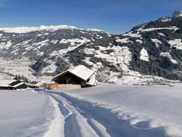 Hütte Mayrhofen für 15 Personen