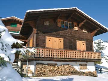 Chalet Adelboden im Winter