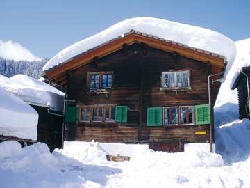 Ferienhaus bei Disentis - Wintermärchen am Lukmanier-Pass