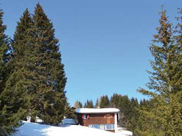 Skihütte Lenzerheide: beste Lage an der Skipiste, dennoch mit PKW erreichbar!