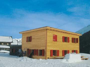 Skihütte Savognin